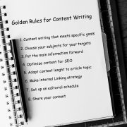 Golden Rules for content writing
