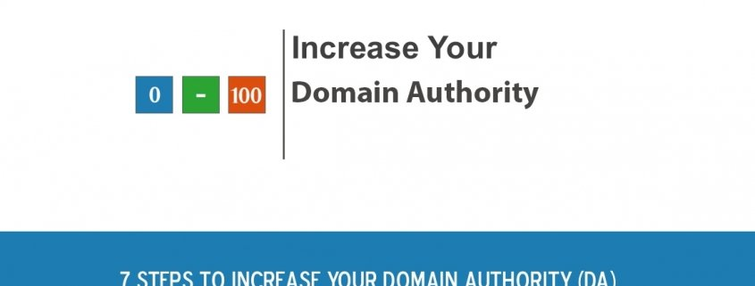 How to increase your domain authority