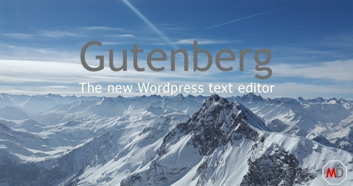 Gutenberg new WP editor